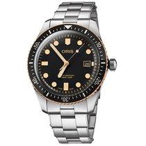 Oris Divers Sixty Five 73377204354-0782118 Новые Сталь 42mm Автоподзавод
