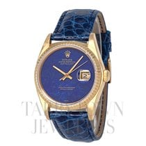 Rolex 16018 Yellow gold 1981 Datejust 36mm pre-owned United States of America, New York, Hartsdale