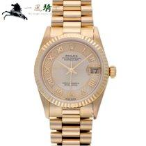 Rolex Datejust 68278NR Bom Ouro amarelo 31mm Automático
