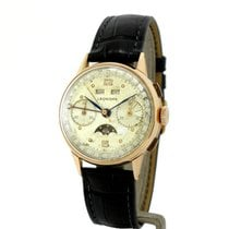 Leonidas Red gold Manual winding 35mm pre-owned