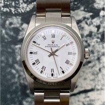 Rolex Oyster Perpetual 31 Сталь 31mm Белый Aрабские