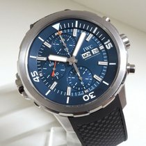 IWC Aquatimer Chronograph Steel 44mm Blue