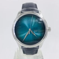 H.Moser & Cie. Steel Automatic Blue No numerals 40mm new Endeavour