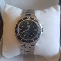 Omega 368 1042 Steel Seamaster pre-owned