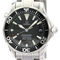 Omega Seamaster Diver 300 M Steel 36mm Black