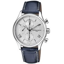 Frederique Constant Runabout Automatic Steel 42mm Silver Roman numerals United States of America, New Jersey, Somerset