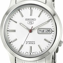 Seiko 5 Steel 38mm White United States of America, New Jersey, Somerset