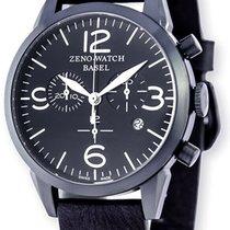 Zeno-Watch Basel Vintage Line Acero 42mm Negro Arábigos