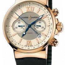 Ulysse Nardin Marine Chronograph 356-66/354 pre-owned