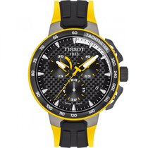 Tissot T-Race Cycling Steel 44.5mm Black
