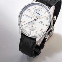 IWC Portugieser Chronograph neu 2021 Automatik Chronograph Uhr mit Original-Box und Original-Papieren 3716
