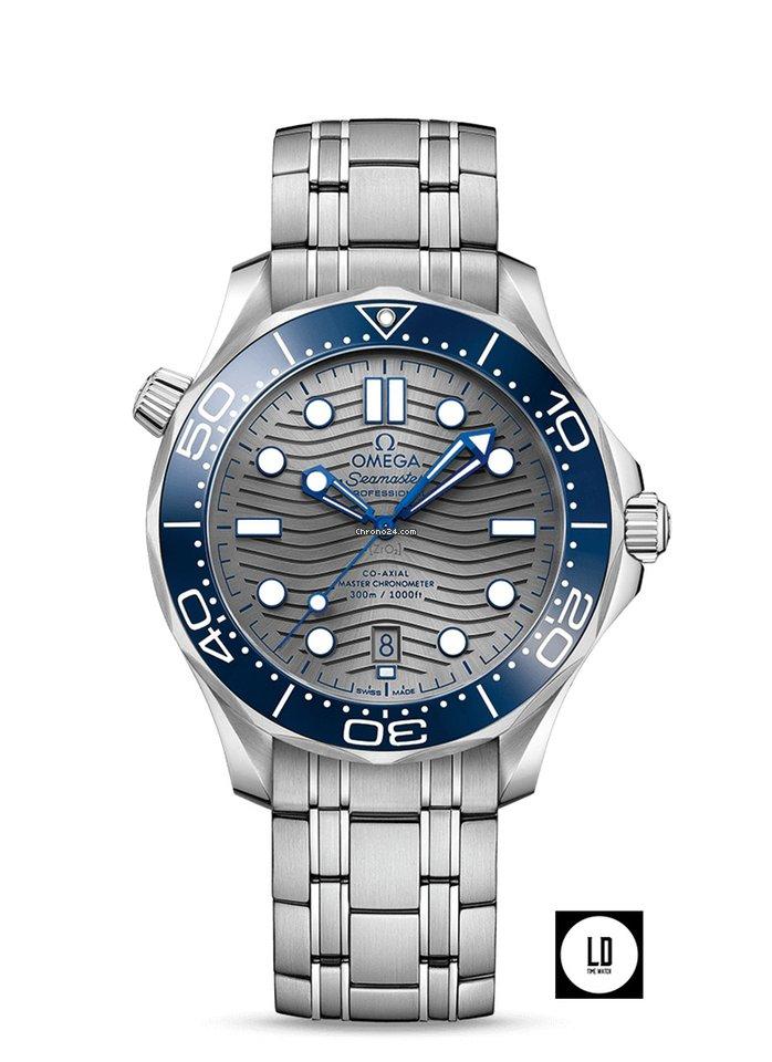 Omega Seamaster Diver 300 M 210.30.42.20.06.001 2021 new