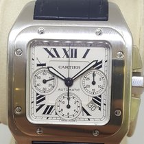 Cartier Santos 100 Steel 41mm White Roman numerals United States of America, Colorado, 80206