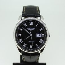 Longines Master Collection Acero 40mm Negro Romanos España, Cantabria