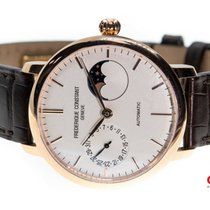 Frederique Constant Slimline Moonphase Steel 39mm White United States of America, New York, Brooklyn