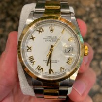 Rolex Datejust Gold/Steel 36mm White United States of America, Pennsylvania, Philadelphia