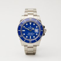 Rolex Submariner Date White gold 40mm Blue No numerals United Kingdom, London