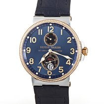Ulysse Nardin Marine Chronometer 41mm new 2020 Automatic Watch with original box and original papers 265-66/154278