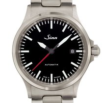 Sinn 556 Steel 38.5mm Black Arabic numerals