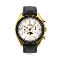 Omega Or jaune Remontage automatique Argent occasion Speedmaster Professional Moonwatch Moonphase