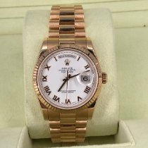 Rolex Day-Date 36 Rose gold 36mm White United States of America, Florida, Boca Raton