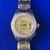 Rolex Lady-Datejust Pearlmaster Yellow gold 29mm Mother of pearl No numerals United States of America, Florida, Boca Raton