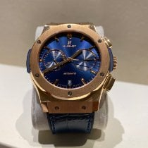 Hublot Classic Fusion Chronograph 541.OX.7180.LR Very good Rose gold 42mm Automatic