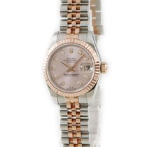 Rolex Lady-Datejust Or rose Rose