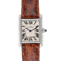 Cartier Tank Louis Cartier White gold 21.7mm Silver Roman numerals United States of America, Georgia, Atlanta