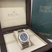 Audemars Piguet Royal Oak Chronograph Acier 39mm Bleu Sans chiffres France, Bastia