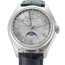 Vacheron Constantin Fiftysix Steel 40mm Silver Arabic numerals United States of America, New York, New York