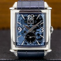 Girard Perregaux Vintage 1945 Steel 36.1mm Transparent Arabic numerals United States of America, Massachusetts, Boston