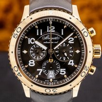 Breguet Type XX - XXI - XXII Rose gold 43mm Brown Arabic numerals United States of America, Massachusetts, Boston