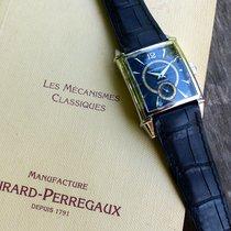 Girard Perregaux Vintage 1945 occasion 28.1mm Bleu Cuir de crocodile