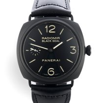 Panerai Cerámica Cuerda manual 45mm Radiomir Black Seal