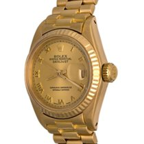 Rolex 6917 Or jaune Lady-Datejust 25mm occasion