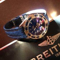 Breitling Lady J Stahl 31mm Blau Keine Ziffern