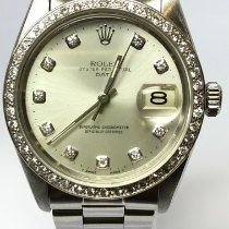 Rolex Oyster Perpetual Date 1505 Muy bueno Acero 34mm Automático