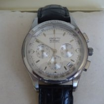 Zenith El Primero Chronograph Steel 38mm Silver