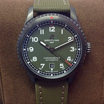 Breitling Aviator 8 Steel 41mm Green Arabic numerals United Kingdom, Wilmslow