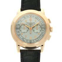 Patek Philippe Chronograph nuevo 2013 Cuerda manual Cronógrafo Reloj con estuche y documentos originales 5070R-001
