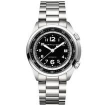 Hamilton Khaki Pilot Pioneer Steel 41mm Black Arabic numerals United States of America, Massachusetts, Florence