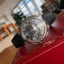 Cartier Ballon Bleu 44mm Сталь 44mm Черный Римские