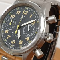 Omega Dynamic Chronograph Zeljezo 38mm Crn Arapski brojevi