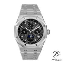 Audemars Piguet Royal Oak Perpetual Calendar Platinum 41mm Grey No numerals United States of America, New York, New York