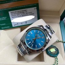 Rolex Milgauss Steel 40mm Blue No numerals United States of America, California, Sunnyvale