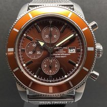 Breitling Superocean Héritage Chronograph occasion 46mm Brun Chronographe Date Acier