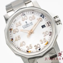Corum Admiral's Cup Competition 40 Acero 40mm Blanco