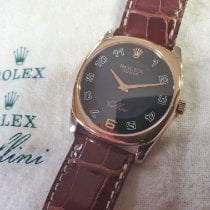Rolex Cellini Danaos Rose gold Black Arabic numerals United States of America, Massachusetts, West Wareham