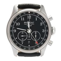 Bremont Codebreaker Steel 42mm Black Arabic numerals